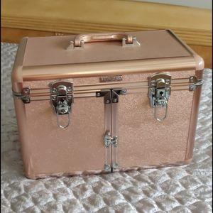 Sephora Collection Rose Gold Makeup Train Case